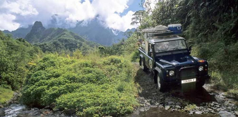 Safari 4x4 au coeur de Tahiti