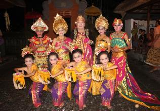 Bali : Mariages folkloriques