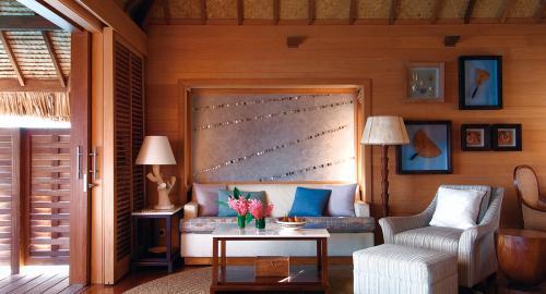 Four Seasons Resort Bora Bora : Hébergement