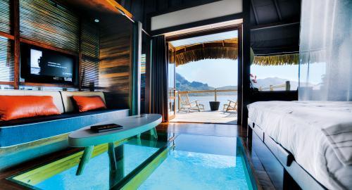 Le Méridien Bora Bora : Hébergement