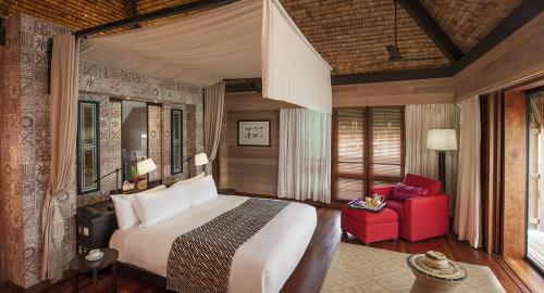 The St Regis Bora Bora Resort : Hébergement