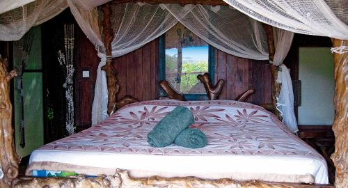 Pension Rohotu Lodge : Hébergement
