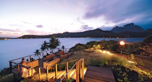 Sofitel Bora Bora Private Island : Restauration