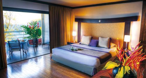 Tahiti Pearl Beach Resort & Spa : Hébergement