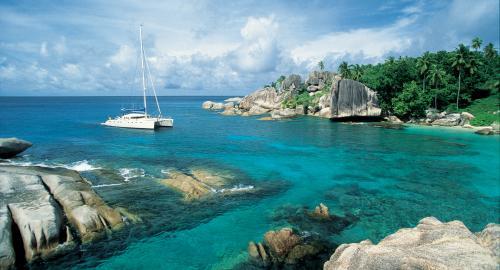 Praslin : Sorties en mer