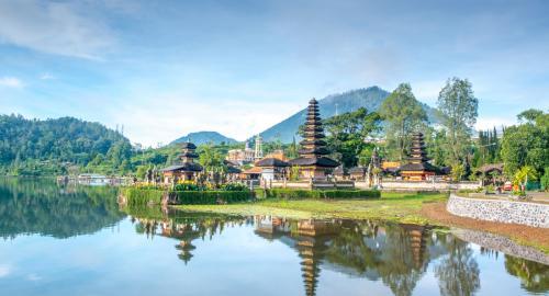 Lacs et collines de Bali