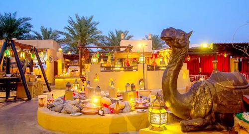 Bab Al Shams Desert Resort & Spa : Restauration