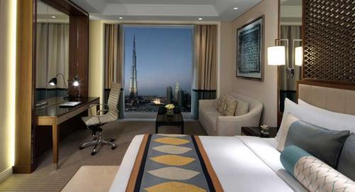 Taj Dubai : Hébergement
