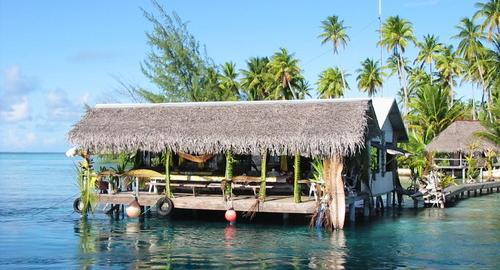 Pension Tetamanu Village : Restauration