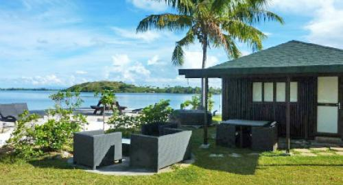 Pension Bora Bora Ecolodge : Hébergement