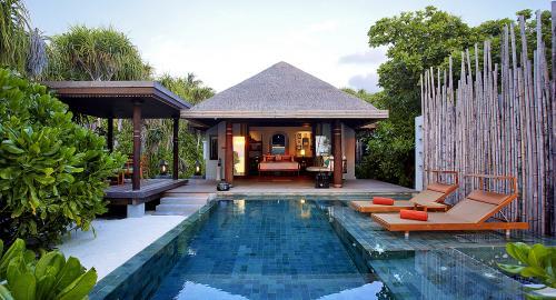 Anantara Kihavah Villas : Hébergement