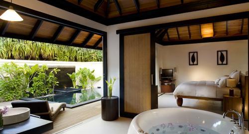 JA Manafaru : Hébergement