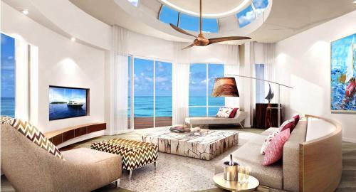 LUX* North Malé Atoll Resort & Villas : Hébergement