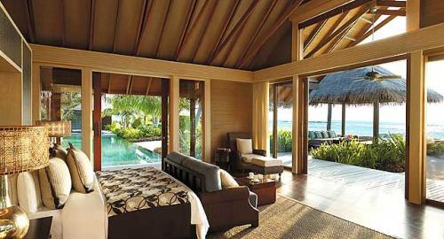Shangri-La's Villingili Resort & Spa : Hébergement