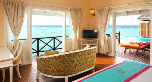Sun Aqua Vilu Reef Maldives : Hébergement