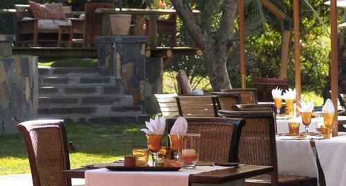 Lakaz Chamarel Exclusive Lodge : Restauration