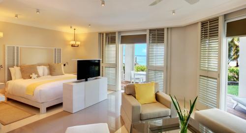 LUX* Belle Mare Resort : Hébergement