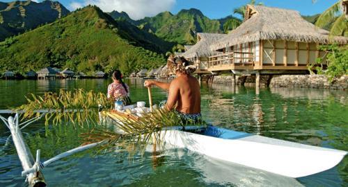 Huahine : Les pirogues polynésiennes