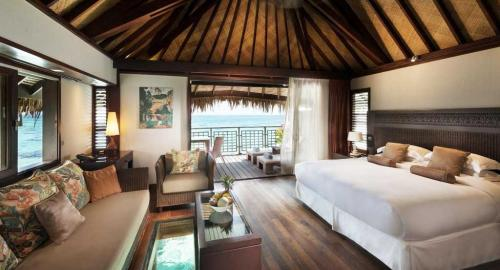 Hilton Moorea Lagoon Resort & Spa : Hébergement