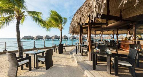 Hilton Moorea Lagoon Resort & Spa : Restauration