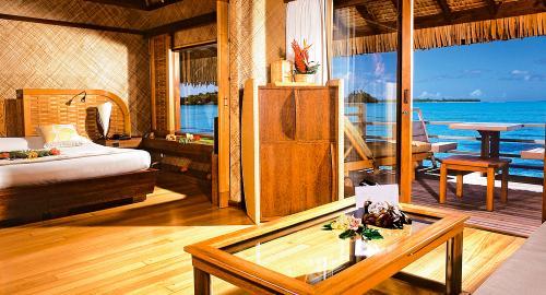 Intercontinental Bora Bora Le Moana Resort : Hébergement