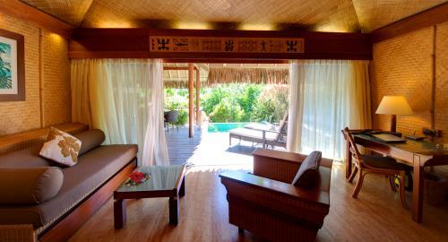 Intercontinental Moorea Resort & Spa : Hébergement