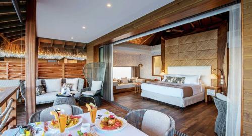 Intercontinental Resort Tahiti & Spa : Hébergement