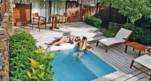 Manava Beach Resort & Spa Moorea : Hébergement