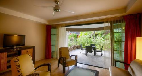 Manava Suite Resort Tahiti : Hébergement