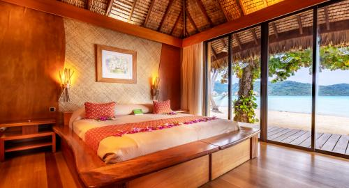 Le Taha'a Island Resort & Spa : Hébergement
