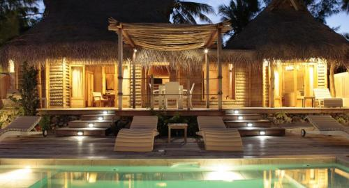 Tikehau Pearl Beach Resort : Hébergement