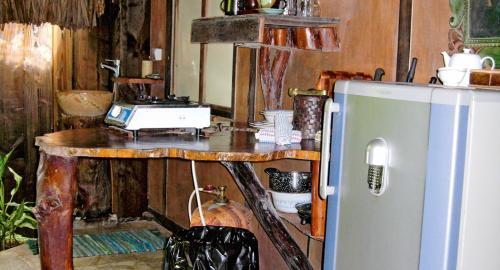 Pension Rohotu Lodge : Restauration