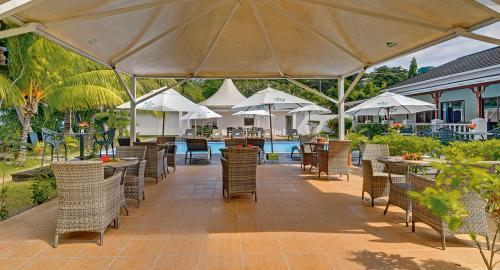 Le Relax Beach Resort : Restauration