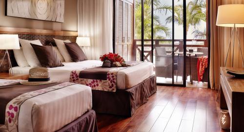 Iloha Seaview Hôtel : Hébergement