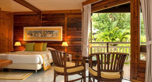 Acajou Beach Resort : Hébergement