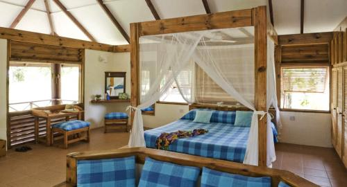 Bird Island Lodge : Hébergement