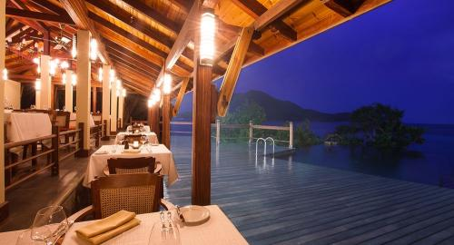 JA Enchanted Island Resort : Restauration