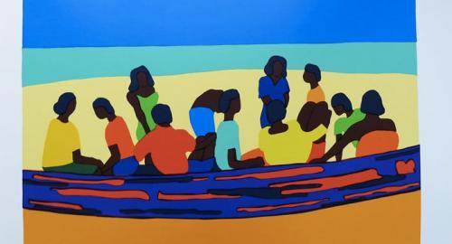 Praslin : Les artistes des îles