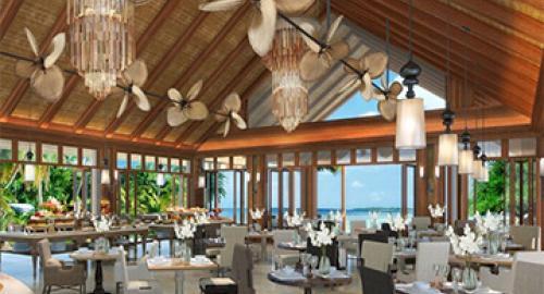 The H Resort Beau Vallon Beach : Restauration