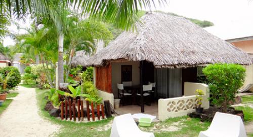 Village Temanuata Beach : Restauration