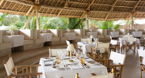 Gold Zanzibar Beach house & Spa : Restauration