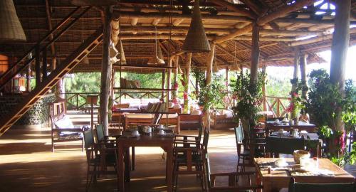 Kichanga Lodge : Restauration